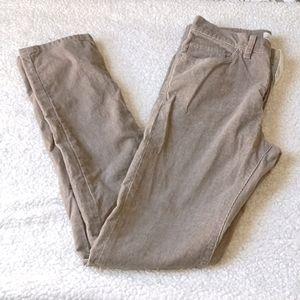 LOGG tan cordoroy pants